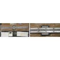 Linearführung  LWF  40C1  R660H  M4 x 16 für Siebdruckmasch. Sys