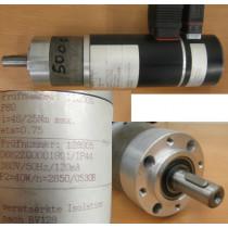 E - Motor i = 46 / 25 Nm max. eta = 0,75